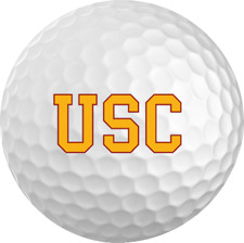USC Titleist ProV1 Refinished NCAA Golf Balls 12 Pack