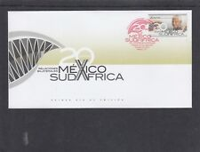 Mexico 2013 Nelson Mandela First Day Cover FDC joint issue South Africa