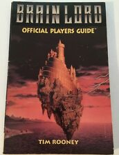 Brain Lord Official Players Guide Tim Rooney STRATEGY GUIDE Super Nintendo SNES
