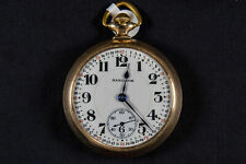 21 jewels, 1923 Antique Pocket Watch Hamilton, Grade 992, Model 2, 16s,