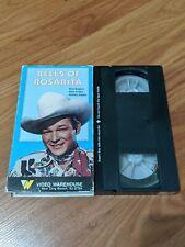 BELLS OF ROSARITA VHS VIDEO WAREHOUSE ROY ROGERS WESTERN RARE OOP