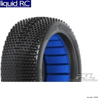2 1//8 Mounted Buggy Tires Pro-Line 9039233 Front//Rear Blockade S3