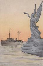 A9686) VENEZIA 1910 CONSEGNA BANDIERA DI COMBATTIMENTO ALLA R. NAVE PONTIERE. VG