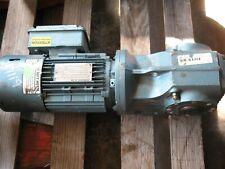 SEW-EURODRIVE DFT80K8/BMG .14/.55 HP, 3 PH 460 V, 3285/810 RPM