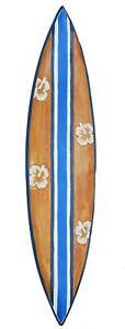 Surfboard Wandmaske 100cm Deko Board zum Aufhängen