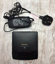 More details for technics sl xp1a portable cd player & ac adaptor sh-cda6 made in japan retro