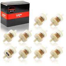 "10 Inline Gas Fuel Filter 1/4"" 7mm Atv Motorcycle Honda Yamaha Polaris Kawasaki"