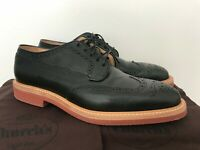 *Size 8.5D* Mens Church's Matlock Black Brogue Wingtip Shoes, Great Condition!