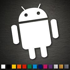 14089 Android Aufkleber 123x105mm Robot JDM DUB Sticker Auto Car Phone Tablet