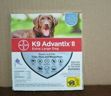 K9 ADVANTIX 2 FOR EXTRA-LARGE DOG ( 1 MONTH SUPPLY ) OVER 55 LBS