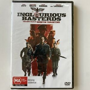 Inglourious Basterds - Brad Pitt (DVD) Australia Region 4- NEW & SEALED