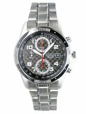 Seiko Chronograph SND519 SND519P1 Men Date Stainless Steel Quartz Watch