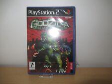 PS2 Godzilla Unleashed , UK Pal, New & Sony Factory Sealed