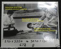 ☆ Original Press Photo - Injured Boy and Medical Staff - LA Times by ERIC DRAPER