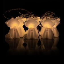 10 LED Kitty Cat String Light Battery Powered Fairy Christmas Decor ThinkGeek