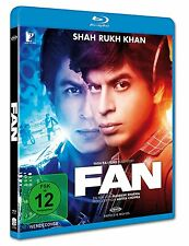 FAN (Shah Rukh Khan) Bollywood Blu-ray Disc NEU + OVP!