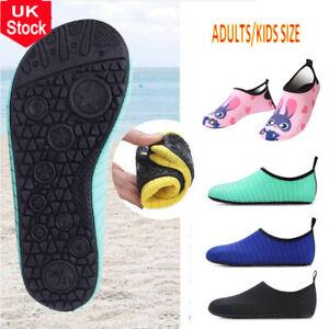 Quick Dry Aqua Socks Non Slip Water Shoes Summer Beach Swim Diving Barefoot Size