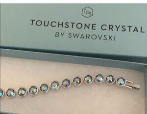 touchstone crystal by swarovskiSplash shimmer ice bracelet BNIB