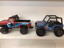Vintage Tonka Ranger Blue Jeep and Night Striker Good Condition
