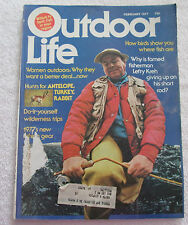 Outdoor Life Magazine Feb. 1977 Do it Yourself Wilderness Trips~Lefty Kreh
