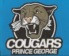 Prince George Cougars WHL CHL Hockey CCM / Maska Iron On Jersey Crest Patch C