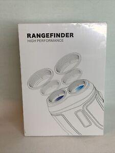 PetitWINGBACK Range Finder w/ Pinsensor Laser Binoculars 6X Magnification