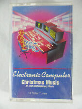 Electronic Computer Christmas Music Hi-Tech Contemporary Music Cassette 1990