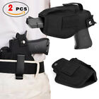 Tactical Universal Belt Gun Holster Concealed Carry IWB OWB Pistols Holster 2Pcs