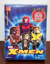 2005 MARVEL LEGO X-MEN MINI-MATES w/ DVD MOVIE PACK 4 FIGURES MIP