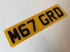Short 6 digit rear road legal Number Plates 100% MOT Compliant free post