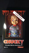 "Mezco Toyz Child's Play Mega Scale 15"" Talking Scarred Chucky Doll NEW In Stock"