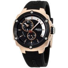 Alpina Avalanche Extreme Black Dial Silicone Strap Men's Watch AL650LBBB3AE4