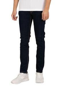 Luke 1977 Men's Vacuum Slim Tapered Jeans, Blue