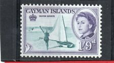 Cayman Islands QE2 1962 1s.9d. sg 176 VLH.Mint