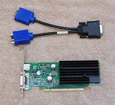 PNY Nvidia Quadro NVS 285 128MB PCI-e x16 Card DMS-59 w/ Cable VCQ285NVS-PCIEX16