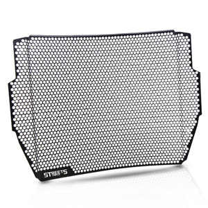top With logo motor Radiator Grille Guard Cover For Triumph Street Triple RS 17+