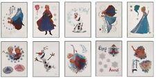 Disney Frozen Tattoos - Set of 10 Disney's Frozen Olaf, Elsa and Anna Tats