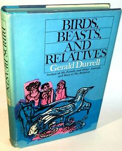 Birds Beasts & Relatives by Gerald Durrell WWII 4th Printing Book Trilogy Book 2