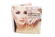 Nagellack ADVENTSKALENDER Beauty Kosmetik - 24 festliche Trendfarben - Neuware