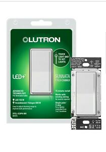 QTY. 10  Sunnata Touch Single Pole Dimmer with White LED+ Advanced Technology