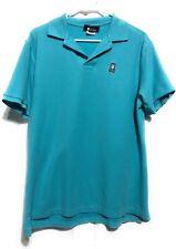 Psycho Bunny Mens Sz 7 XL Aqua Blue Polo Shirt Embroidered Logo
