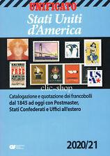 CATALOGO UNIFICATO STATI UNITI D'AMERICA 2020-21 nuovo