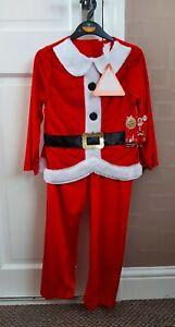 BNWT Boys Santa Costume (5-6yrs)