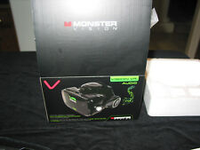 MONSTER VISION VR headset with headphones Black