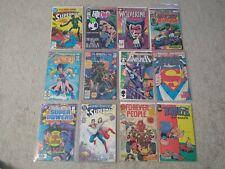 Huge lot of comic books! Wolverine 1, Superman 1, Marvel, DC, rare!!