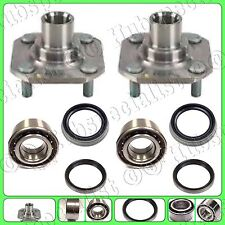 FRONT WHEEL HUB & BEARING & SEAL FOR TOYOTA TERCEL /PASEO W/OUT ABS PAIR NEW