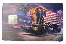 Trump Credit Card Decal Maga, Kag 2020