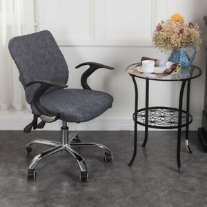 Home Office Computer Chair Universal Full Stretchable Rotate Chair Seat Covers