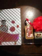 NEW Bath & Body Works Gift Set Japanese Cherry Blossom/ Spice Scented Candle
