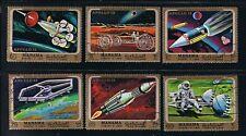 Apollo 13 = Flight = Moon Exploration, Space Full Set of 6 q20
